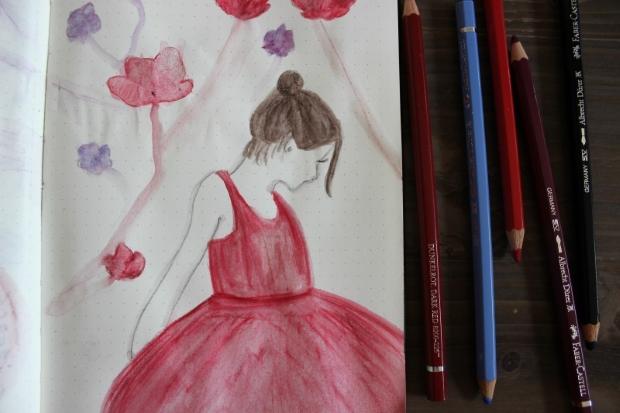 aquarell-blumen-mädchen